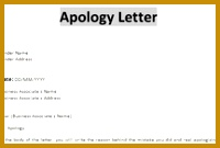 Apology Letters Free sample letters of apology for personal and professional situations Also 135200