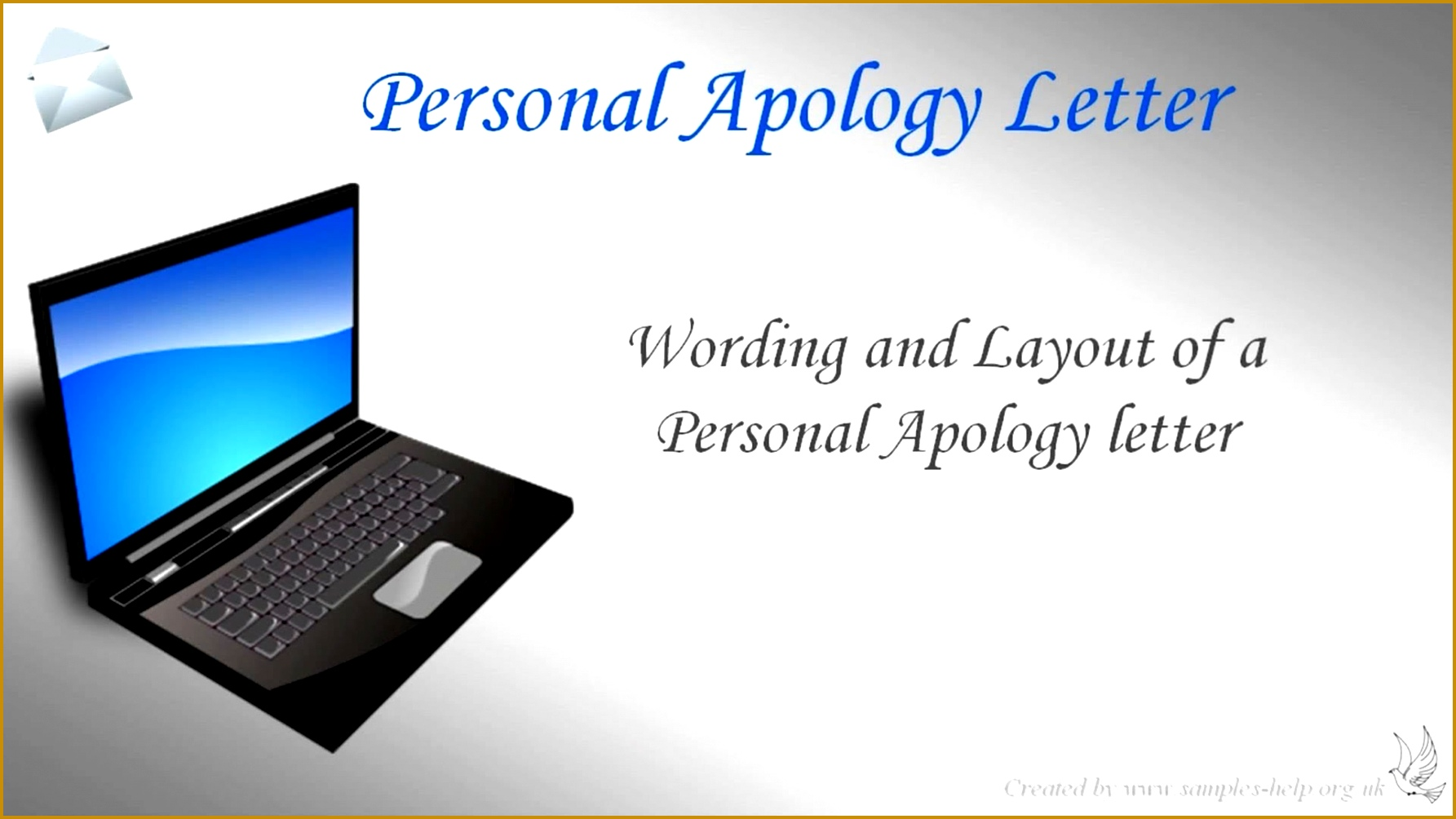 How To Write A Personal Apology Letter Watch v= 10041785