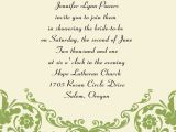 Invitation Messages For Wedding