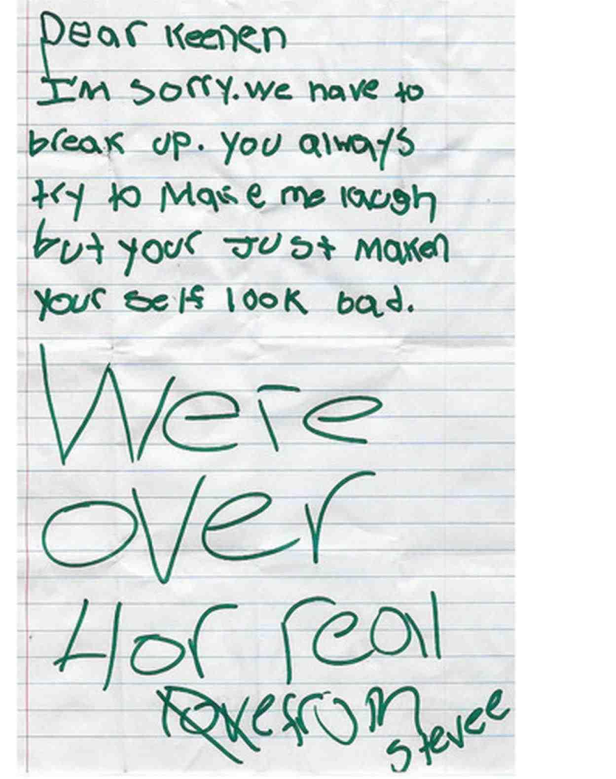 Sample Break Up Messages Fabtemplatez