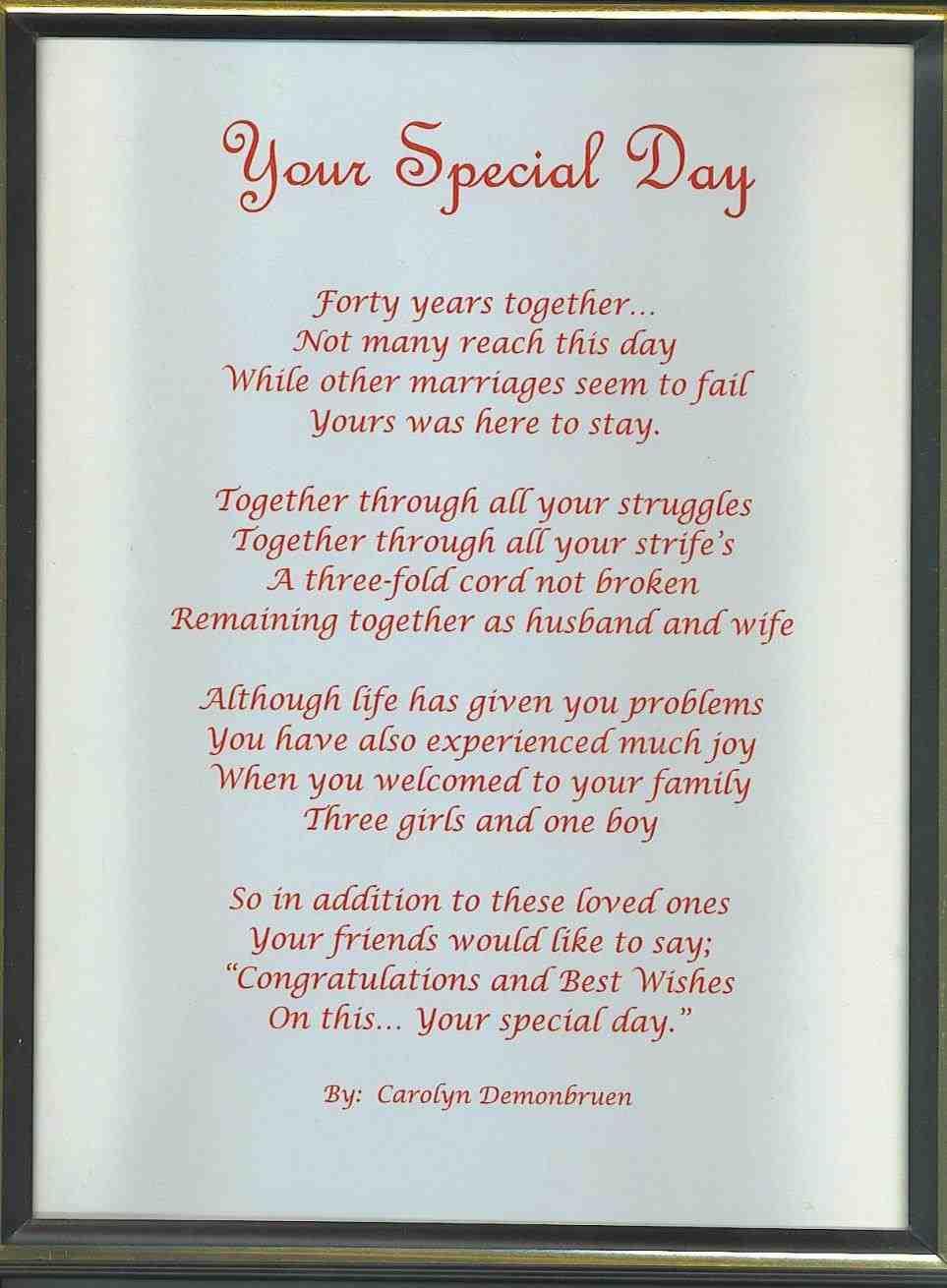 Wedding Message To Parents