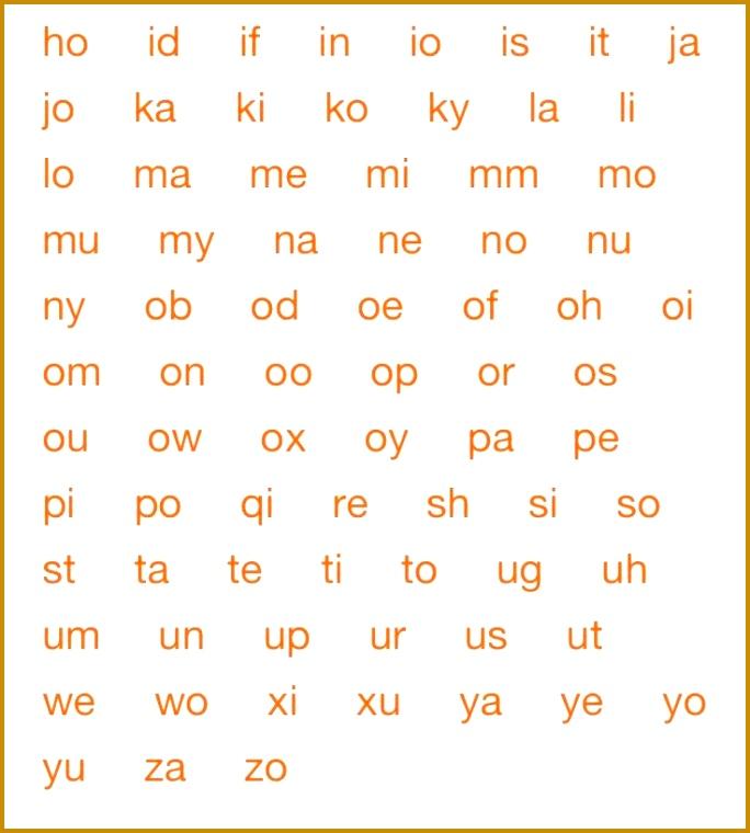 2 letter words pt2 760684