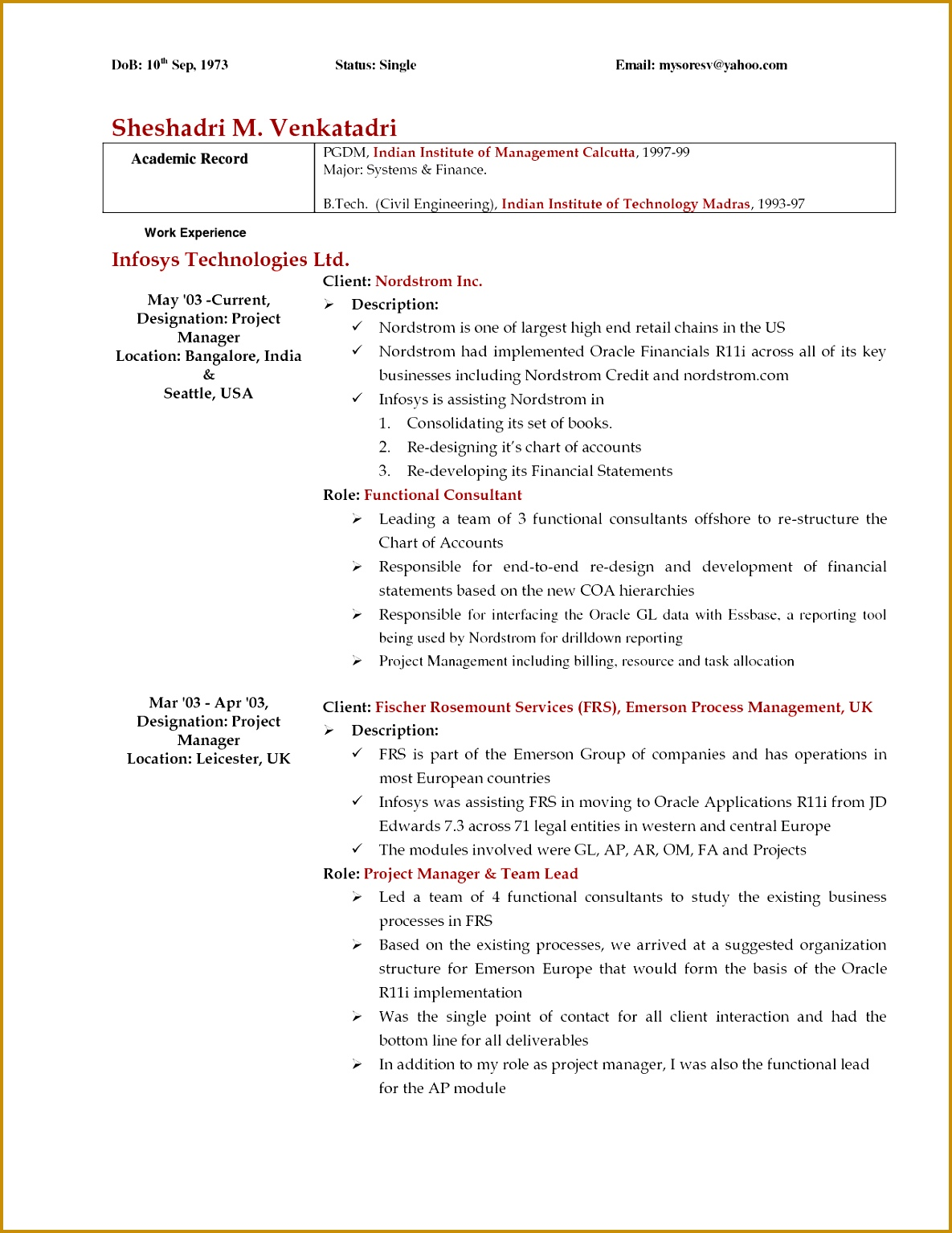 e Page Professional Resume Template Inspirational Examples A Cover Letter For A Resume Best Od Consultant 15341185