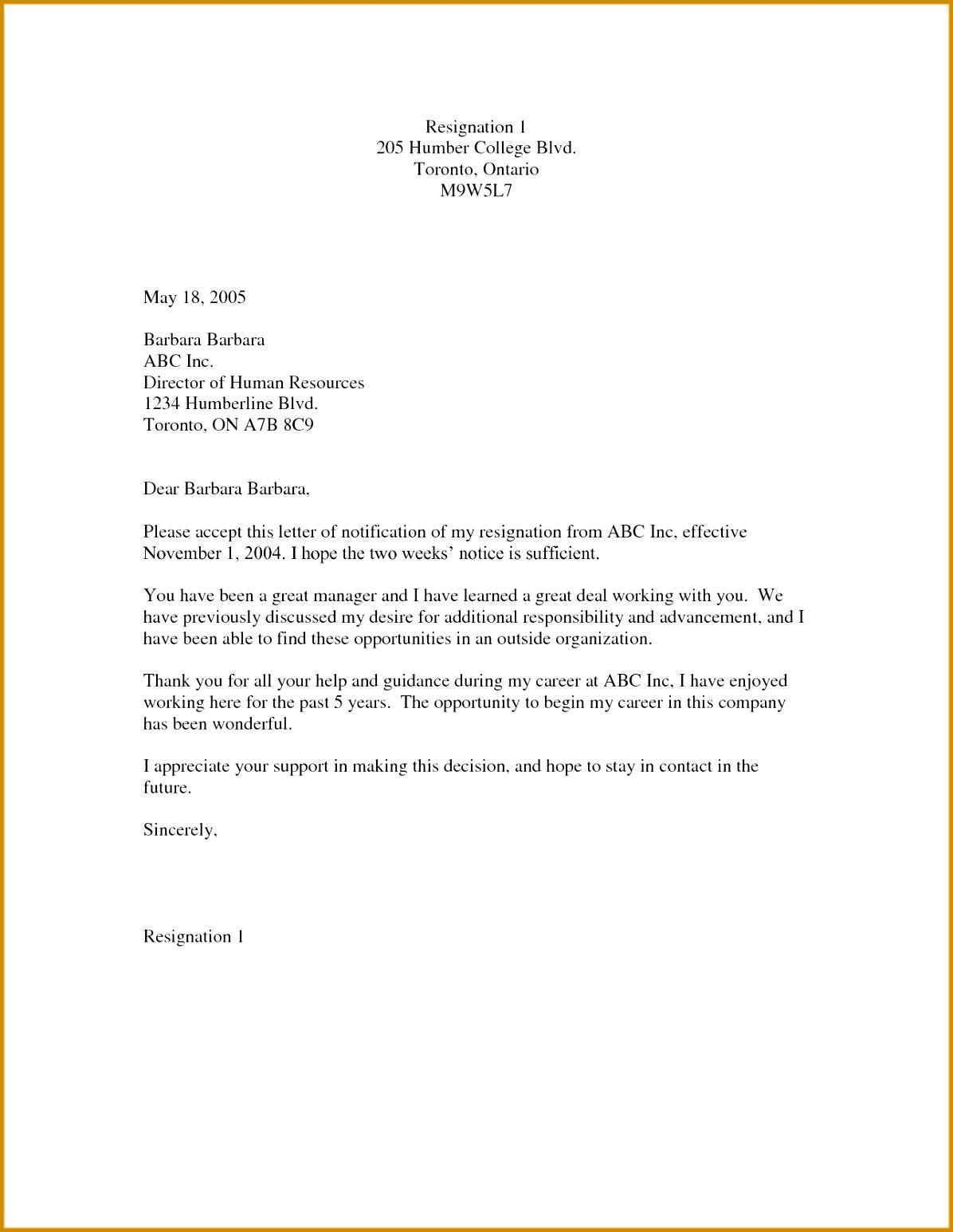 Leaving Job Notice Letter Template Best Letter Debit Note Od 15451196