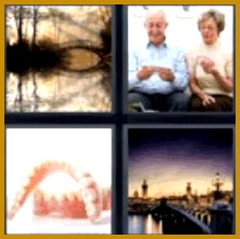 4 pics one word 6 letters Elderly old couple playing game Find the 4 pics 1 word answers you need 218219