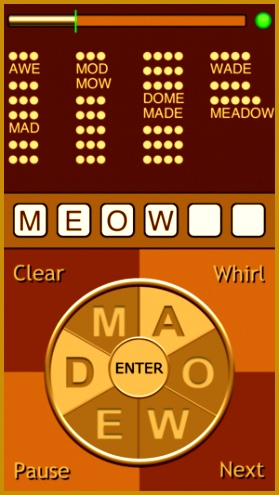 Whirly Word Free on the App Store 495279
