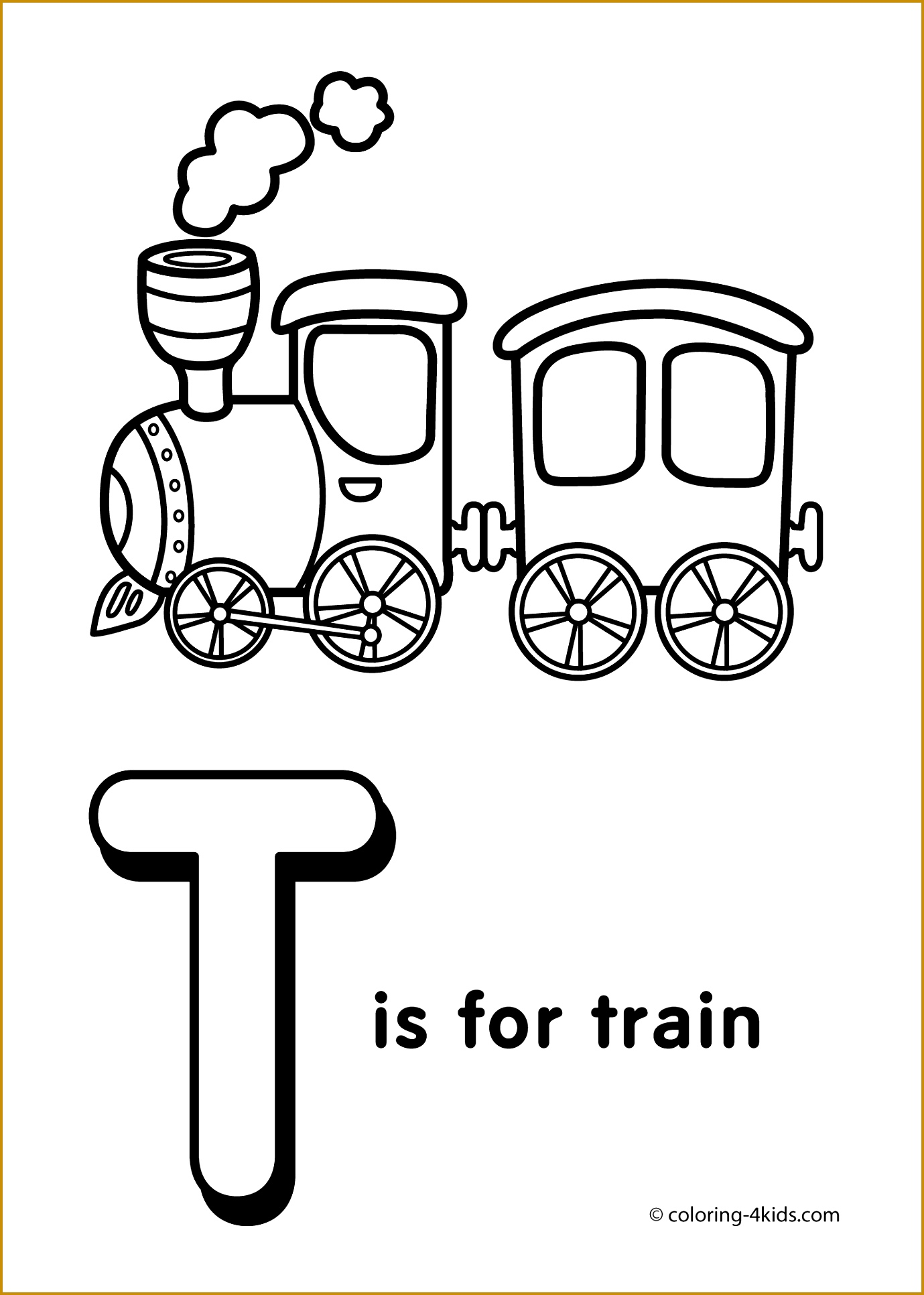 Letter T Coloring Pages Alphabet Coloring Pages T Letter Words Letter G to Color 19331379