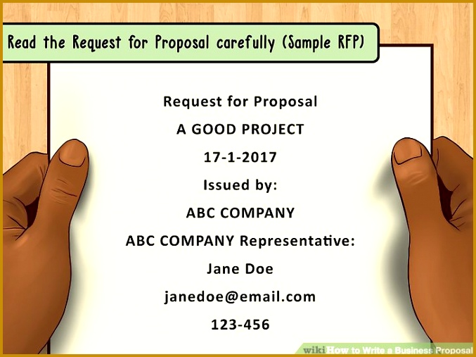 Image titled Write a Business Proposal Step 1 507677