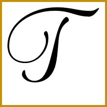Latin Capital Letter T 219219