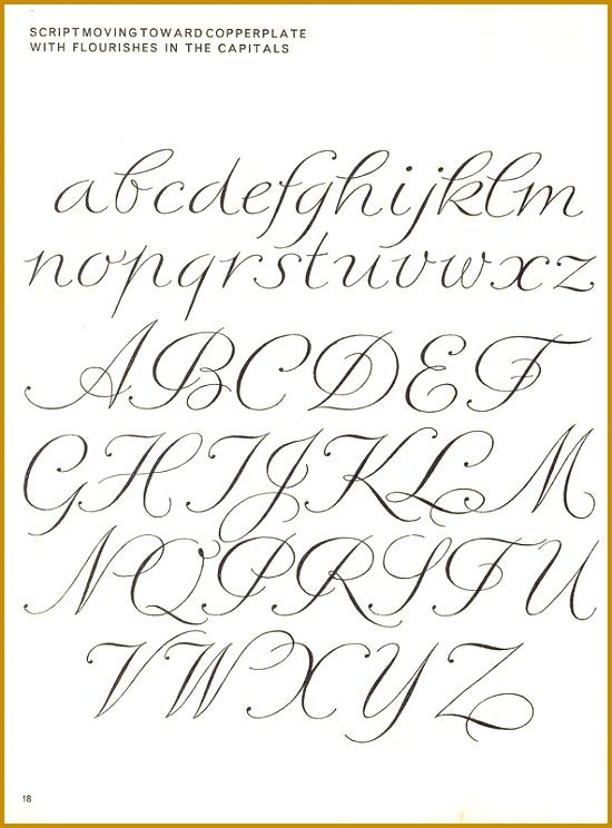 Such an elegant font 744550