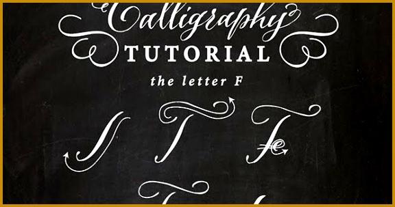 Antiquaria Calligraphy Tutorial 303576