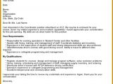 4 Cover Letter Template