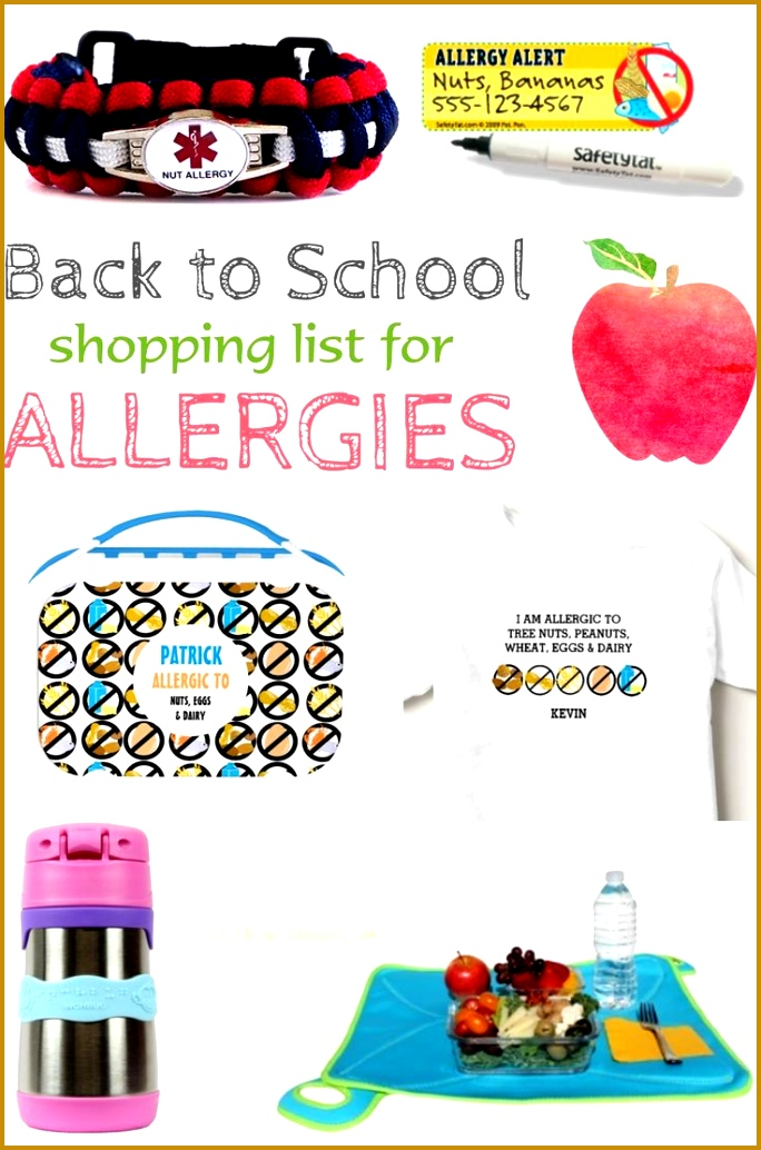 Must Have Allergy Items For Back to School Round up of awesome products for kids 6841034