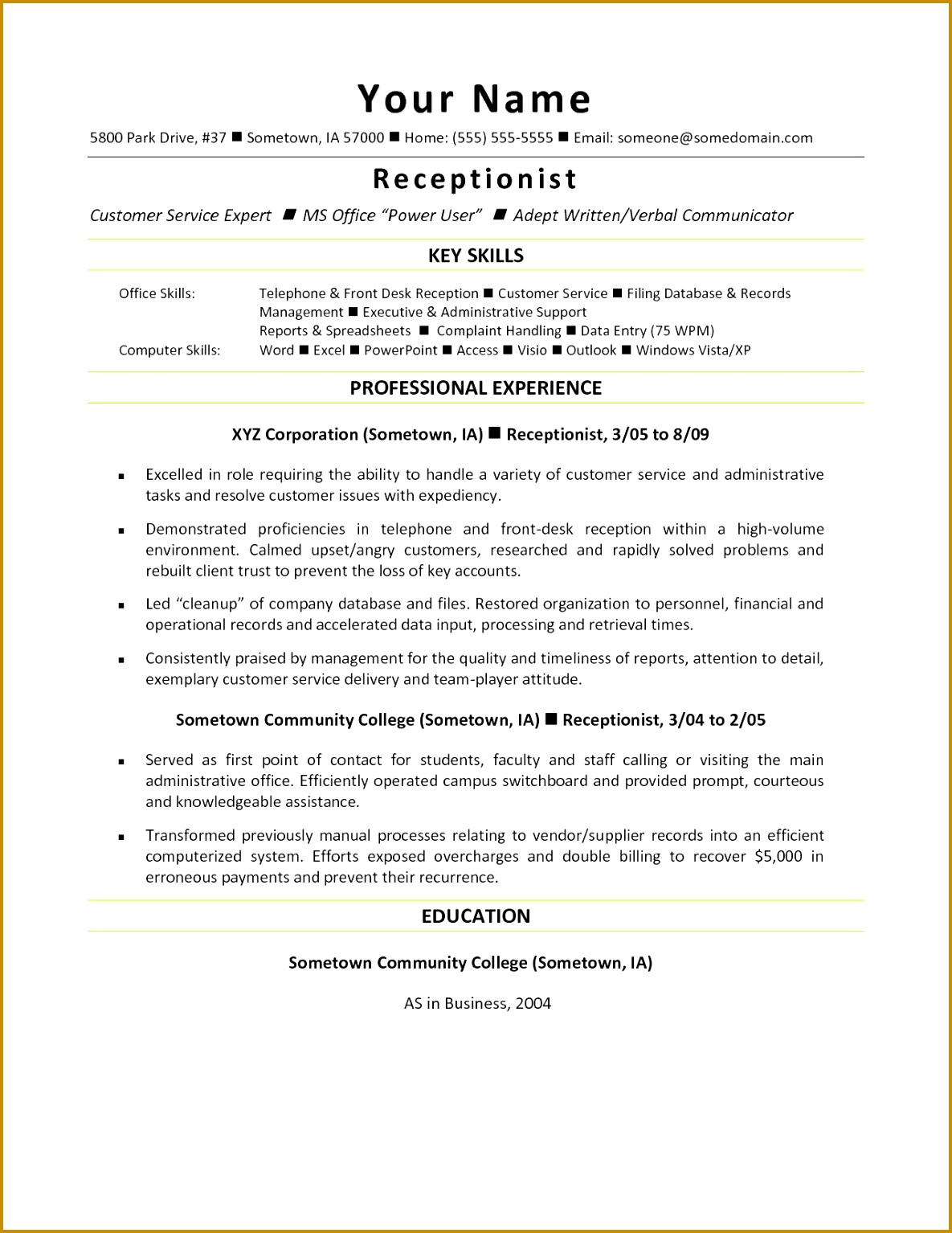 Example Cover Letter for Jobs Best Sample Puter Skills for Resume Unique Beautiful Od 15341185