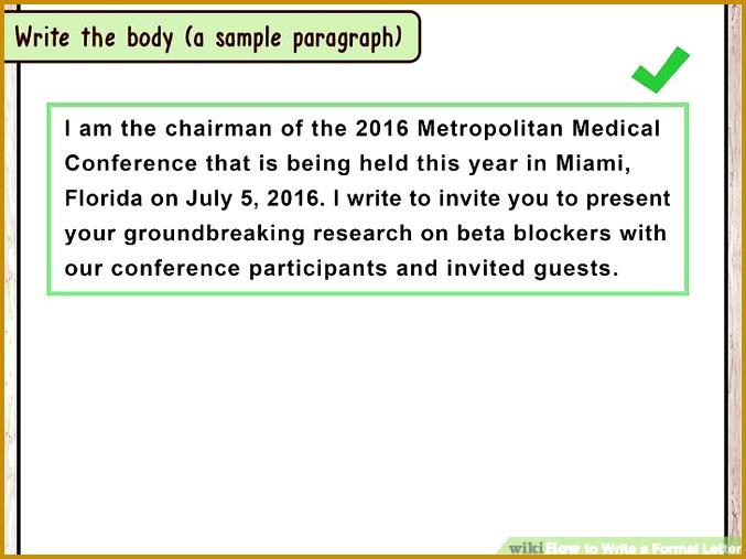Image titled Write a Formal Letter Step 13 507677