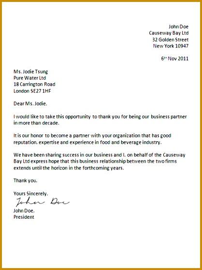 UK business letter format 558418