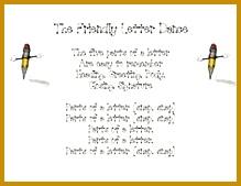 The Friendly Letter Dance 169219