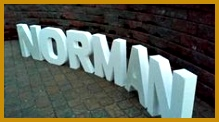 Personalized table decor Party decor undecorated letter white block letters large letters Wedding decor Styrofoam name Free standing 122219