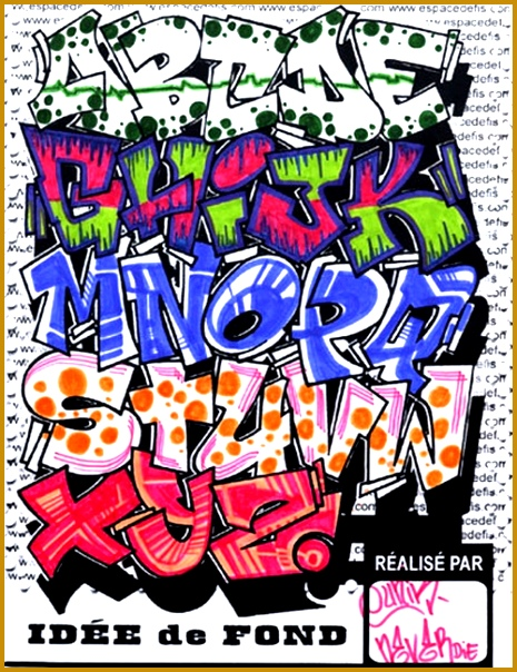 How to Learn the Graffiti Alphabet Style 465604