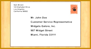 Write a Business Letter 171318