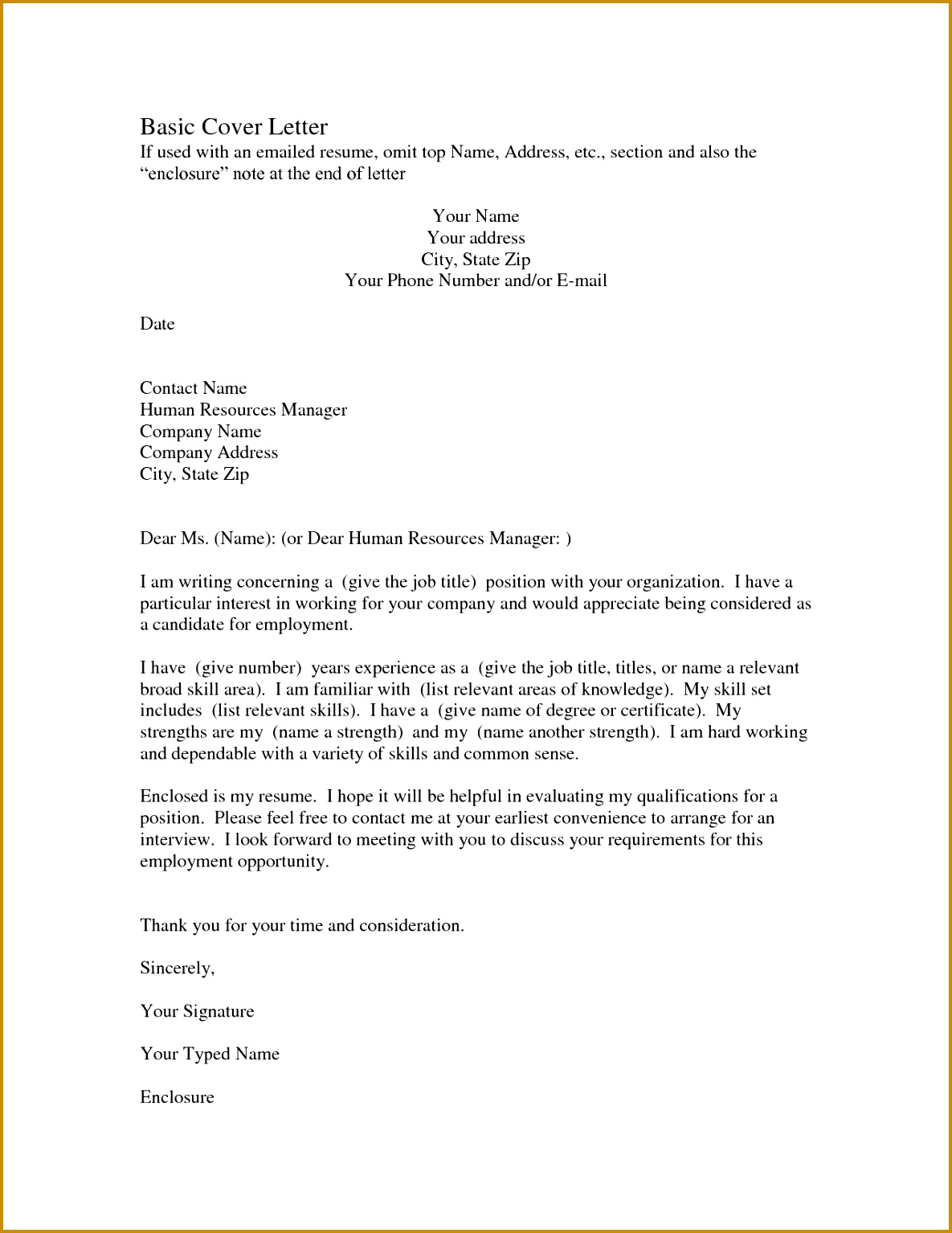 Od Google Docs Resume Templates New This Cover Letter Sample Shows How A Resumes for Teachers 15341185