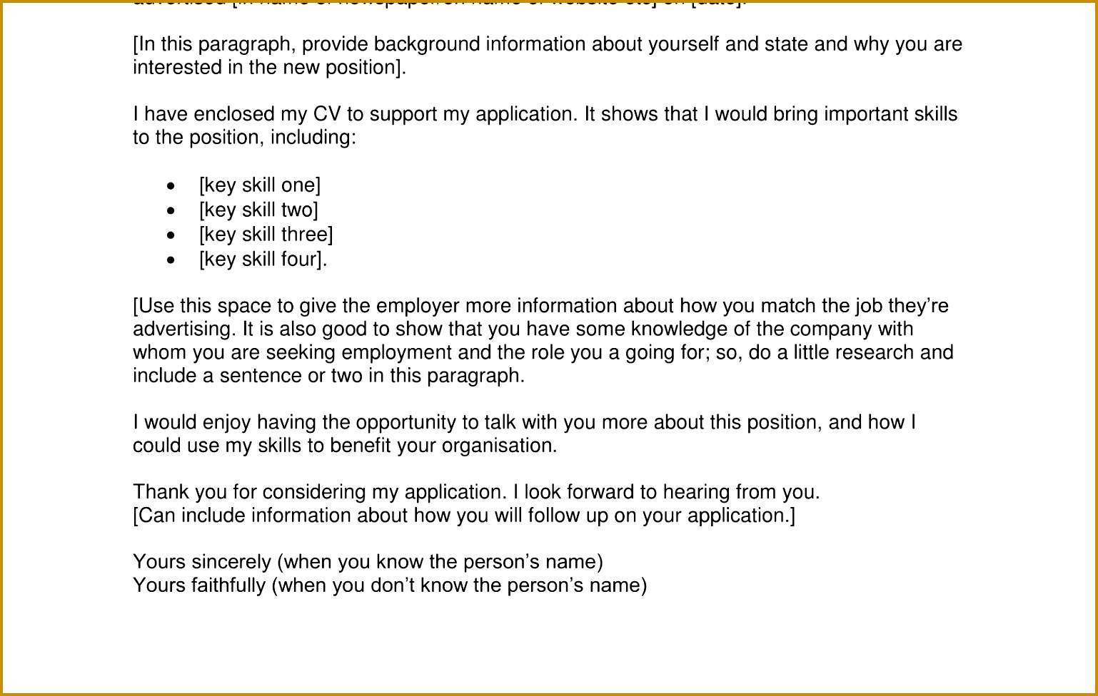 Write Covering Letter for Job Unique Importance Cover Letter and Resumeod Structure Job Application 1538976