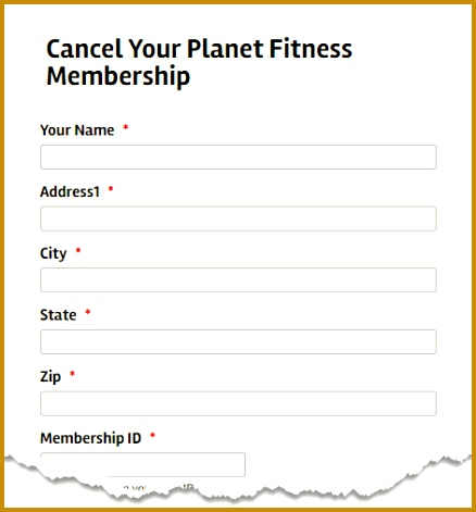 Docsmit makes it easy to cancel your Planet Fitness membership using USPS certified mail sent online 438471