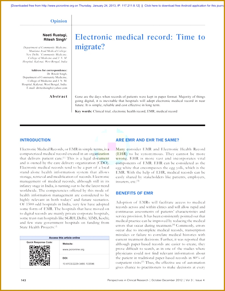 PDF Legal aspects of Medical Records 7901023