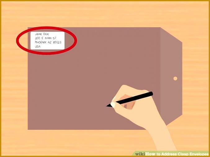 Image titled Address Clasp Envelopes Step 4 507677