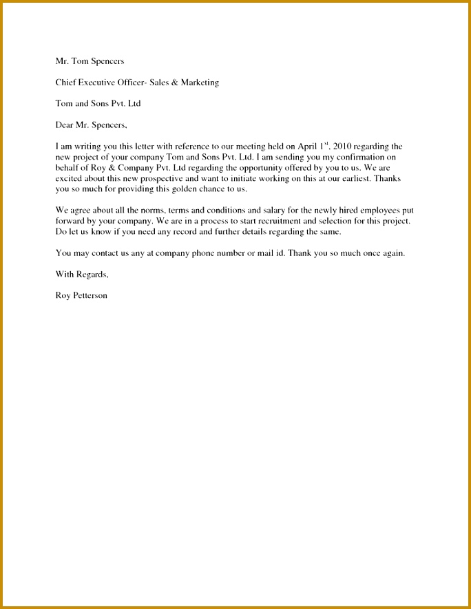 How to write offer letter reply 684885