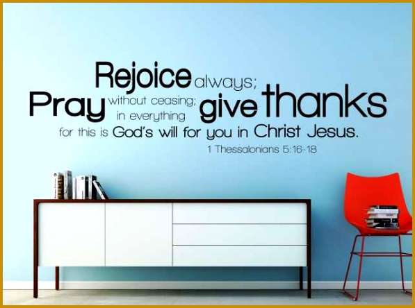 Decal Letters for Walls Fresh Vinyl Wall Decal 1 thessalonians 5 16 18 Decal Letters 444597