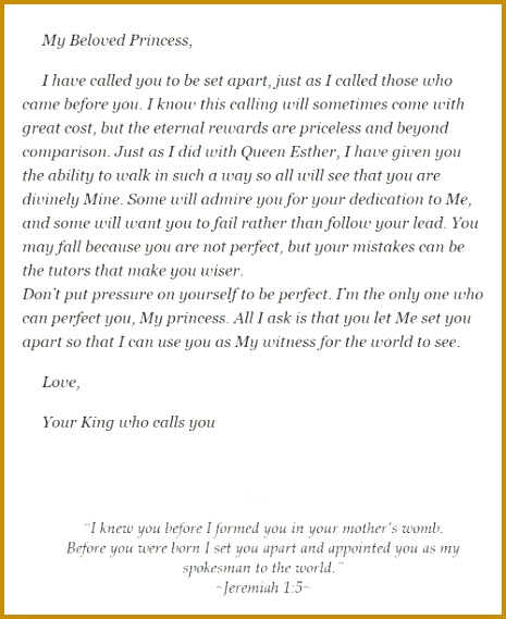 Love Letters of God to His Princess The Lily White Princess 465569