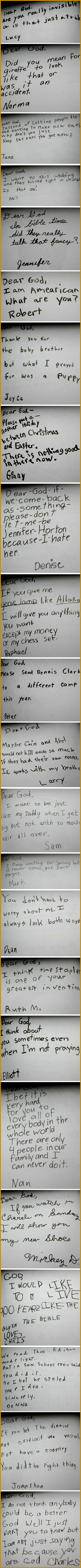letters to God from kids 7135371