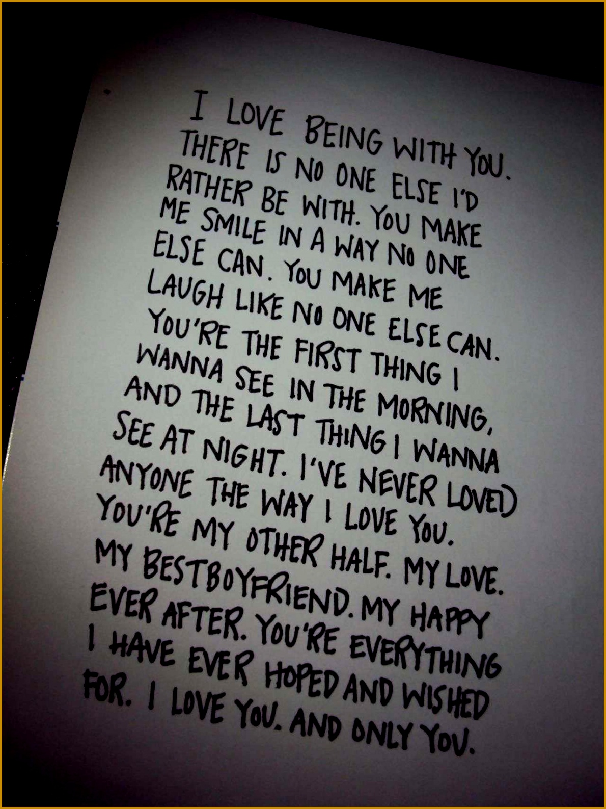 Feel like this with my boyfriend Love him so much Such a cute couple quote Wrote 15871190