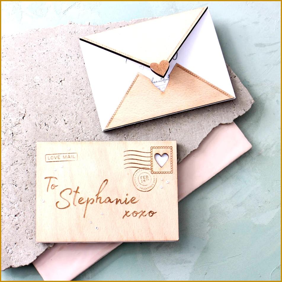 Engraved Wooden Love Letter 952952