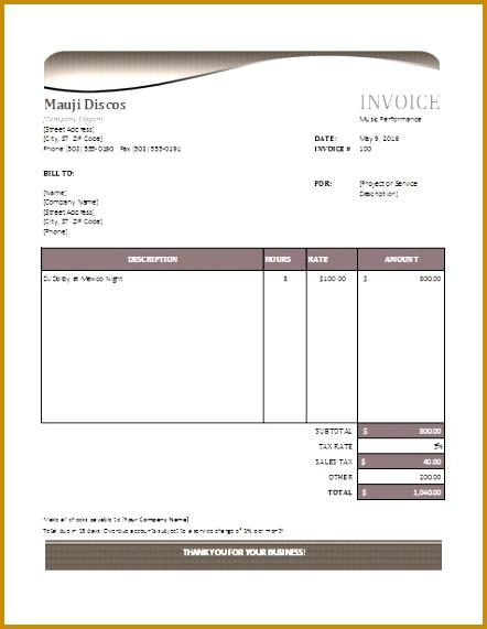 performance invoice sample Baskanai 571442