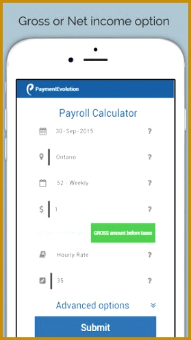 Payroll Calculator Canada on the App Store 495279