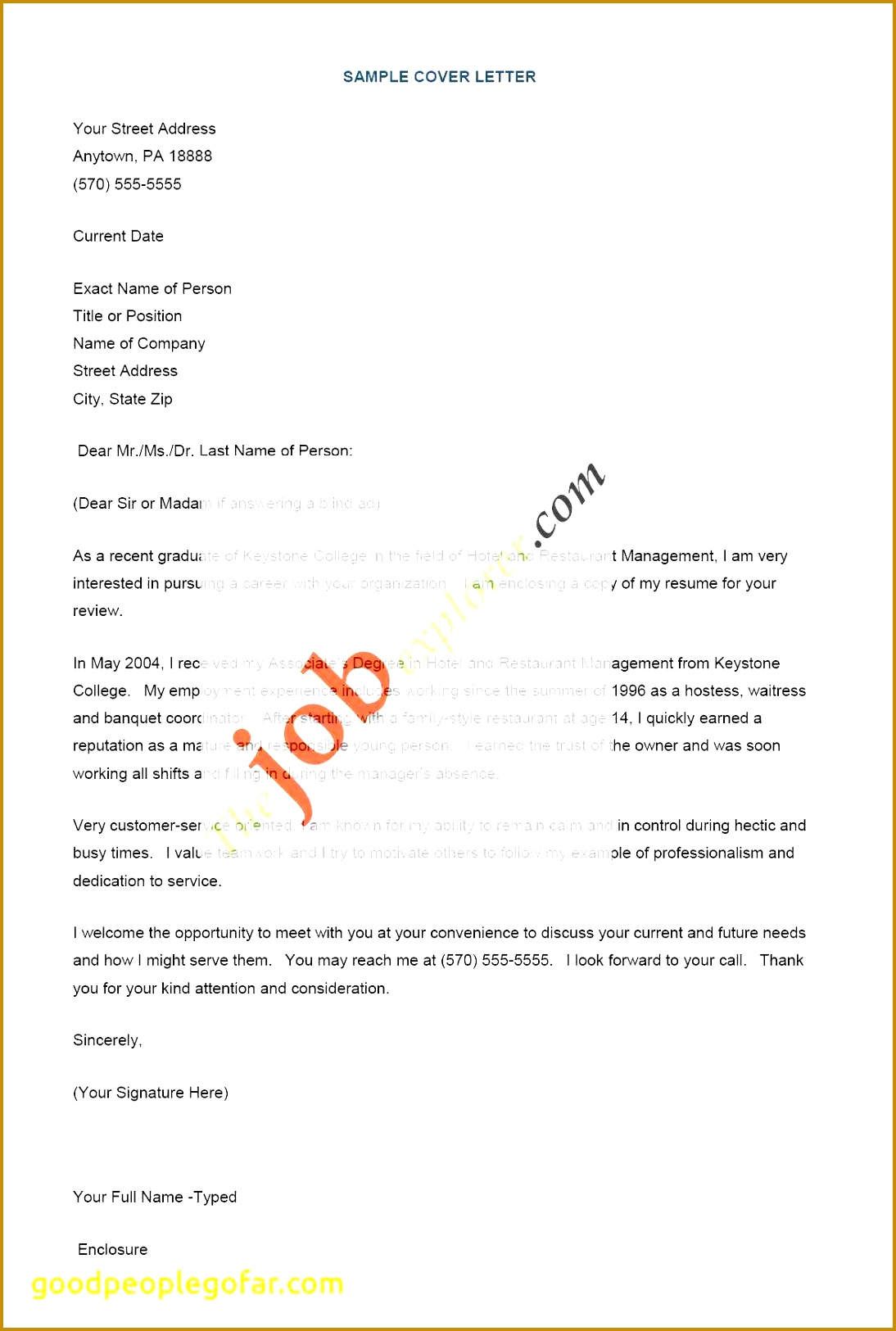 Best Resume Inspirational Best Cover Letter Lovely formatted Resume 0d Professional Resume 16251094