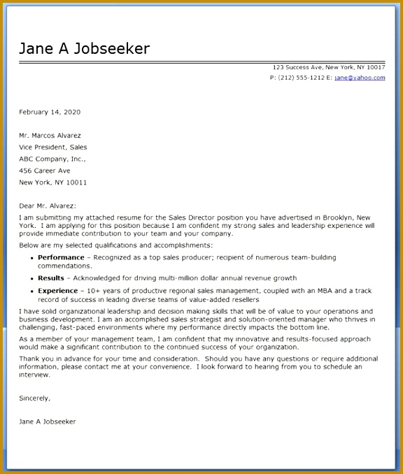 An Example A Cover Letter for A Resume Fresh Resume Cover Letter formatted Resume 0d 678576