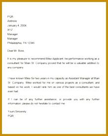 Re mendation Letter for Employment Promotion 274219