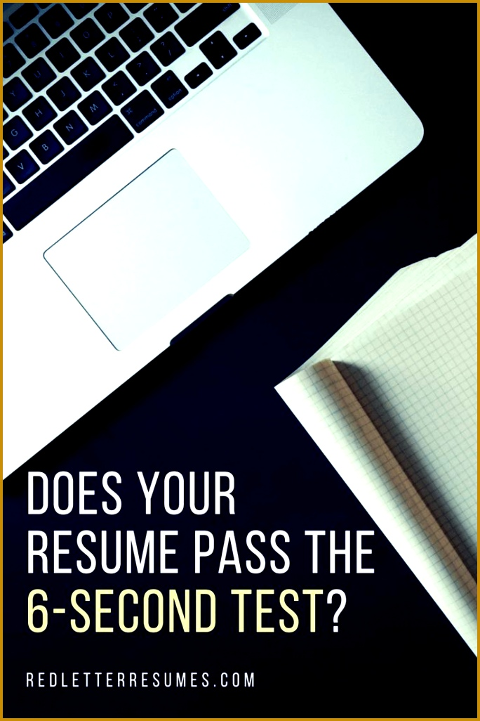 Take the FREE 6 Second Test and find out from HR pros if your resume is costing you career success Red Letter 1026684