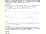 Requesting A Letter Of Recommendation 55157 Letter Re Mendation Template Word Samples
