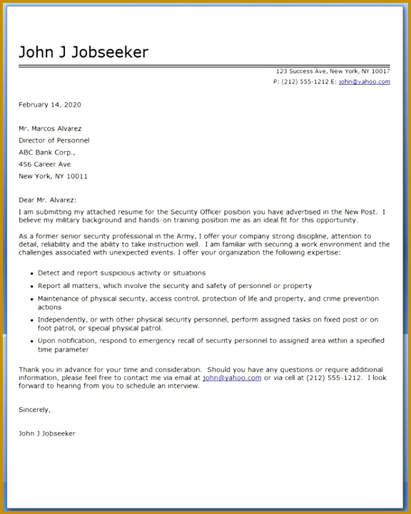 7 Sample Cover Letter for Internship 28755 | FabTemplatez