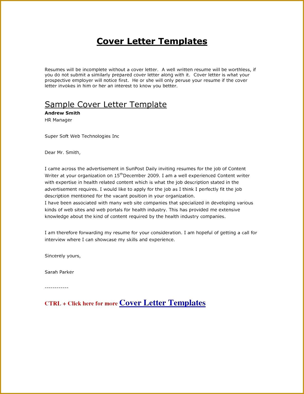Job Application Letter Format Template Copy Cover Letter Template Hr Fresh A Good Cover Letter Sample Best Od Best Good Covering Letter Template Gallery 15341185