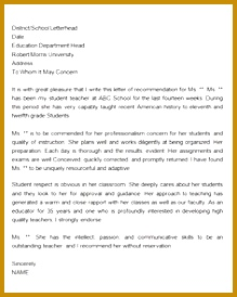 Sample letter of re mendation for teacher 18 documents in word Sample Templates 274219