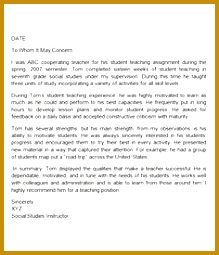 sample letters re mendation for teacher documents word thank you letter bing images 255219