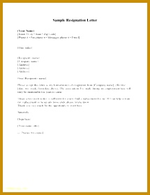 Resign Letters 279215