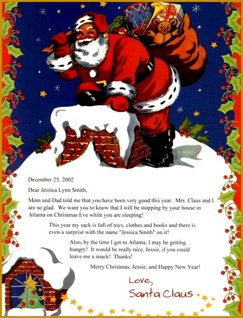 A Letter From Santa Claus Children s by CreationsByFrannie on Etsy 654501