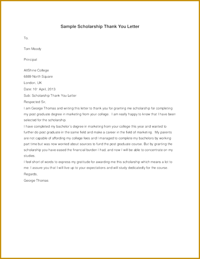Cover Letter For Nursing Scholarship Application Creative 678877