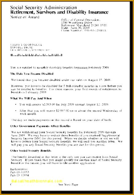 Social Security Disability Award Letter Copy Fresh Ssdi Shaunod Beautiful social Security Disability Award Letter 636437